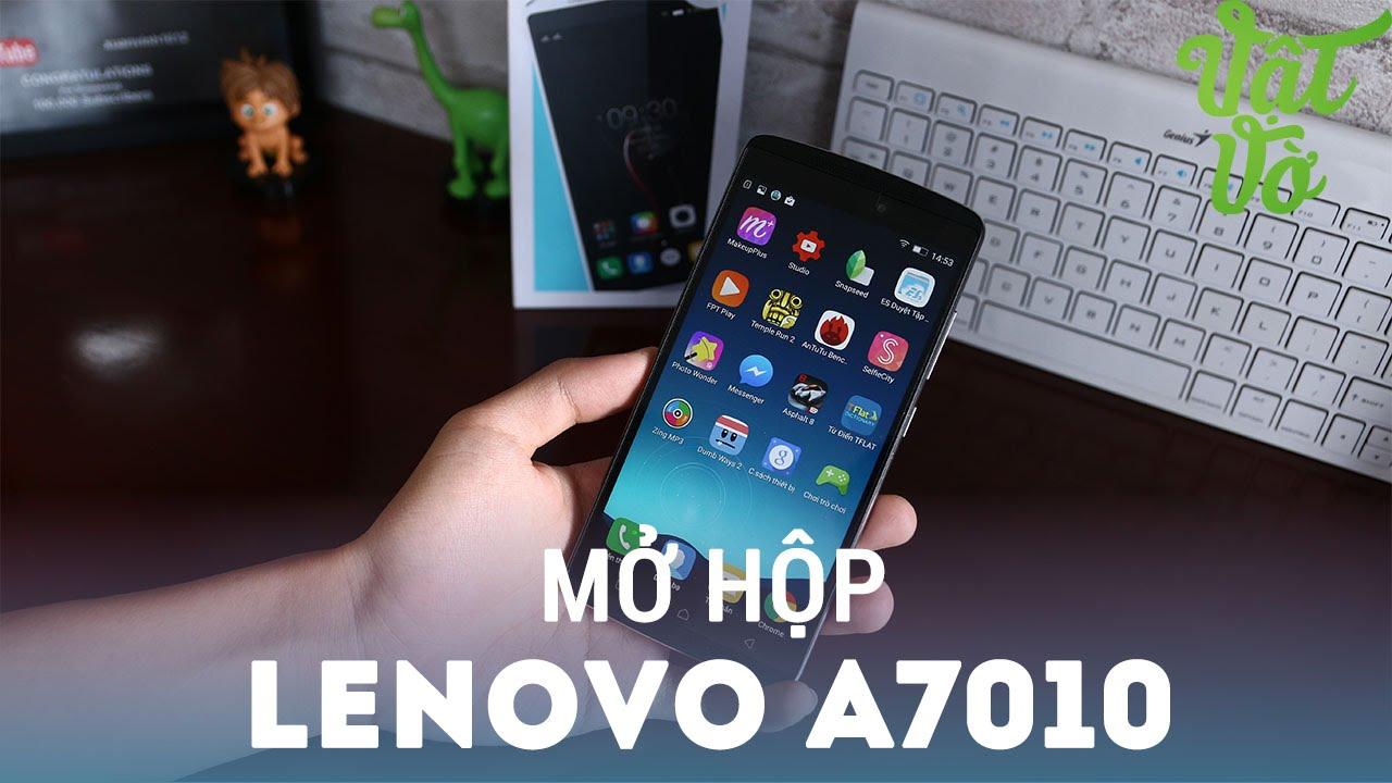 Vật Vờ| Mở hộp & đánh giá nhanh Lenovo A7010/K4 Note: 5 triệu, cảm biến vân tay