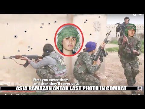 Asia Ramazan Antar Kurdish Female Hero 9 ISIS Kills