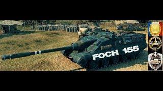 FOCH 155 #4 World of Tank Blitz Feat Hyunjae Aced gameplay 8800 DMG