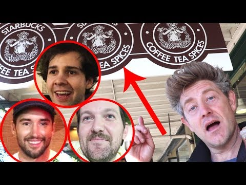 VISITING THE WORLD'S FIRST STARBUCKS!!