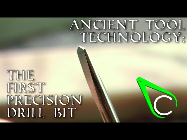 Antikythera Fragment #5 - The First Precision Drill Bit