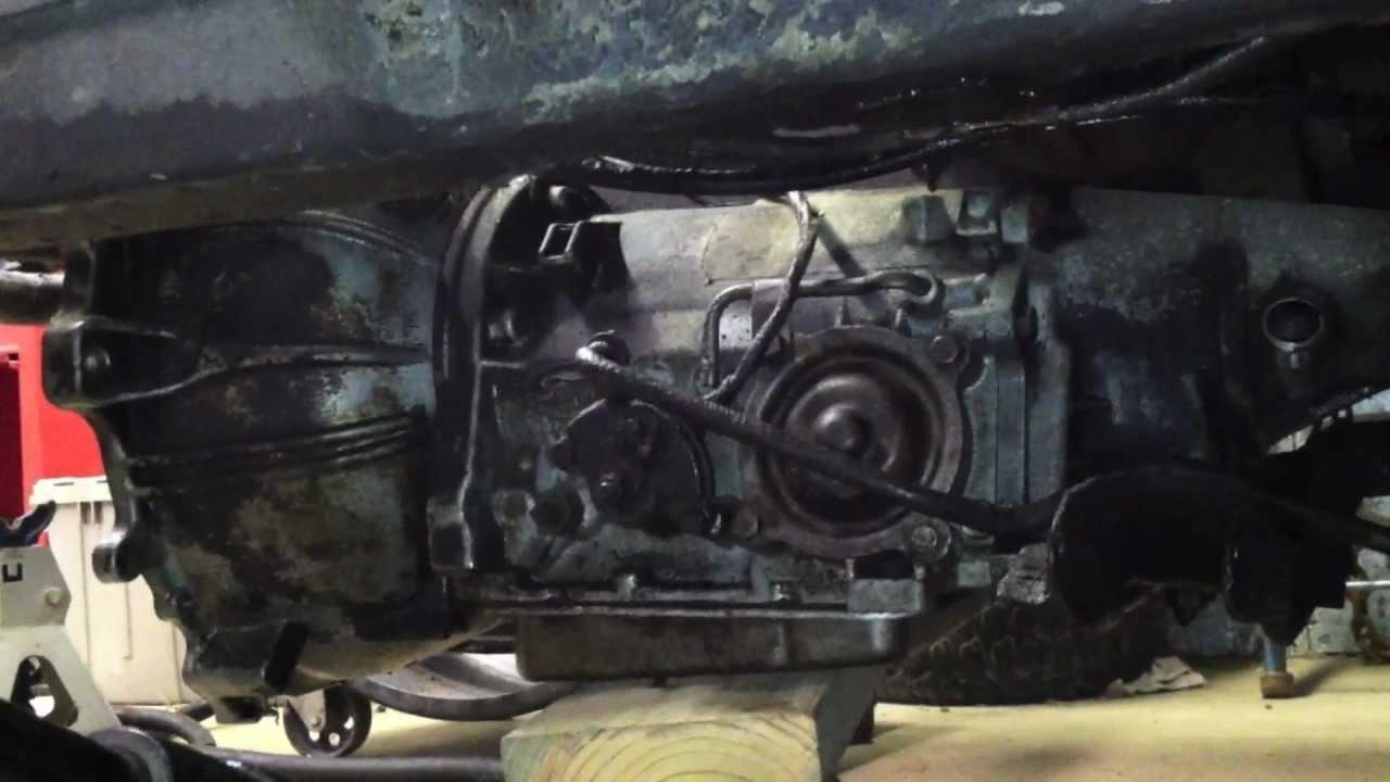 1966 Mustang Restoration  Part 8  Transmission Removal