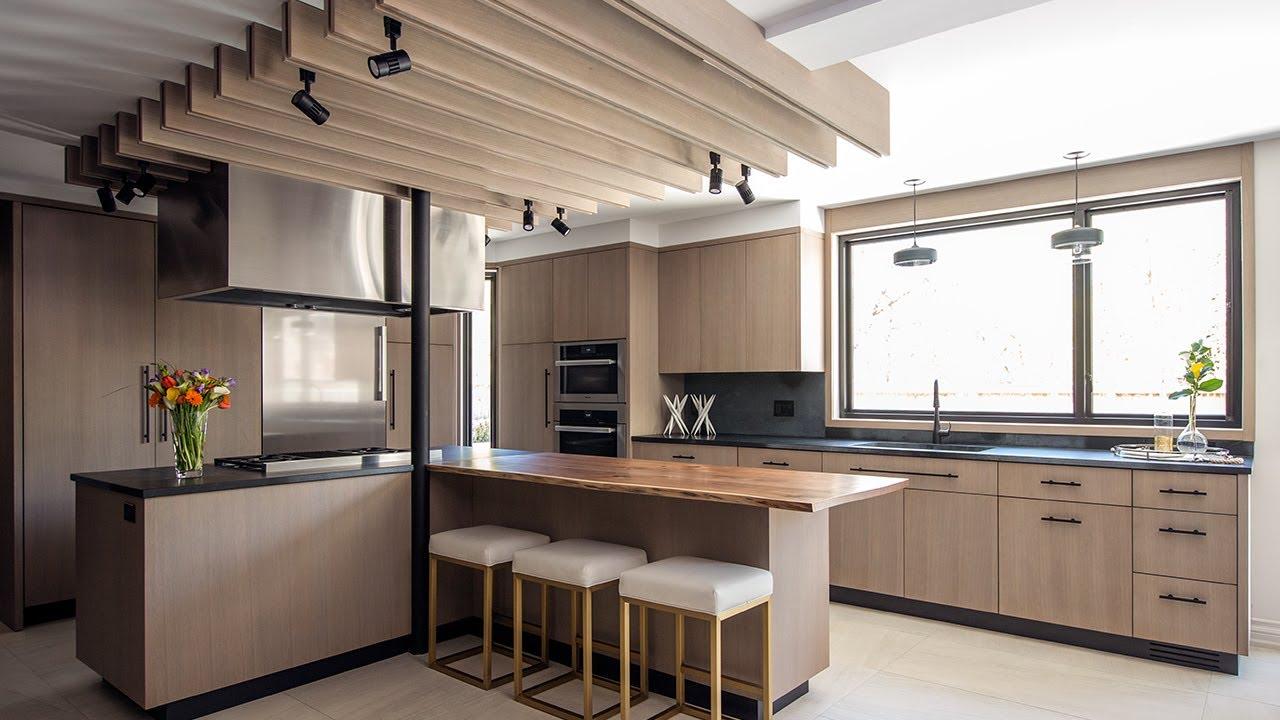 Interior Design Modern Light Wood Kitchen Makeover