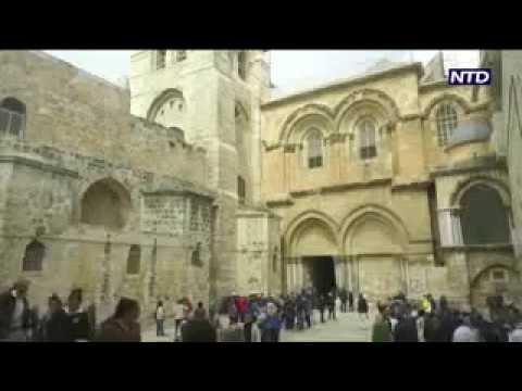 Jesus' tomb reopens in Jerusalem after restoration