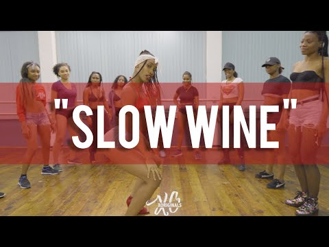 #islandHopMondays | SEXY DANCE🔥 | Nailah Blackman & Konshens - Slow Wine