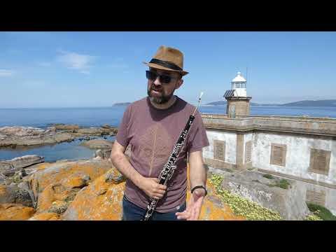 Cantigas de Leviatán: O músico polifacético Benxamín Otero visita a illa Lobeira
