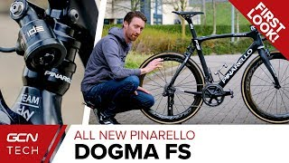 All New Pinarello Dogma FS | Team Sky's Full Suspension Road Bike For Paris - Roubaix