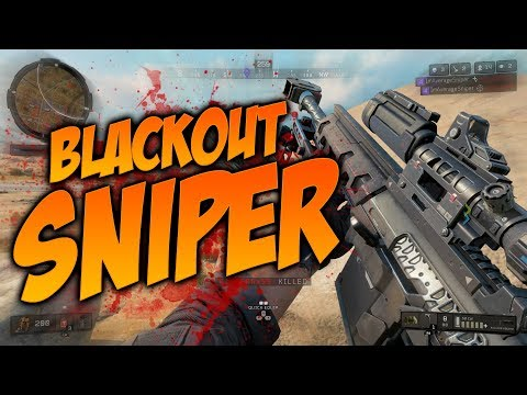 Sniping in Blackout (Call of Duty Blackout)