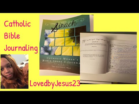 Bible Study/Journal with Me| Sirach 20| Catholic