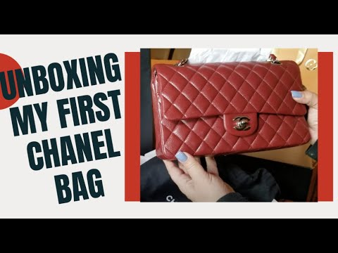 4d3ea1781422 Download New Red Medium Chanel Classic Flap Unboxing Chanel Cruise ...