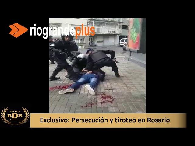 Persecución y tiroteo en Rosario