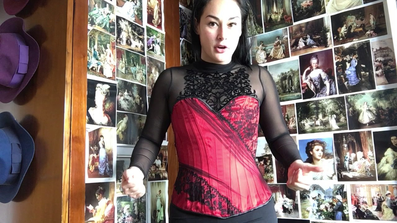 750d9dbab9e CORSET WARNINGS   for closed busk corsets   Newbies - YouTube