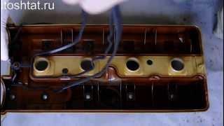 видео Масло в свечных колодцах W210, М104.995