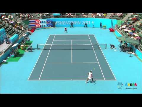 26th SU Shenzhen (CHN) - Tennis Women's Singles Final