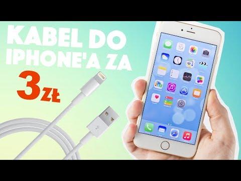 KABEL DO iPHONE'A ZA 3zł   AppleNaYouTube
