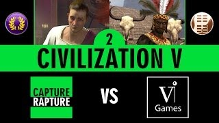 Civ V - Multiplayer Part 2 - Rome vs Zulu