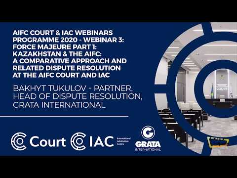 #Kazakhstan #AIFC Comparative Analysis of Kazakh and AIFC Laws in Terms of Force-Majeure