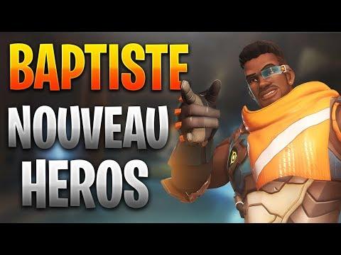 Nouveau héros   Baptiste (healer) - Overwatch thumbnail