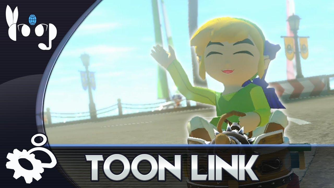 Mario Kart 8: Custom Character - Toon Link
