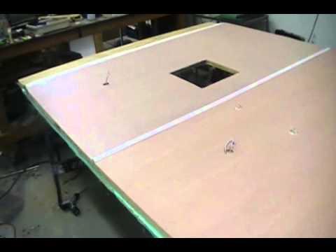Pop Up Camper Roof Rebuild Pt3 Youtube
