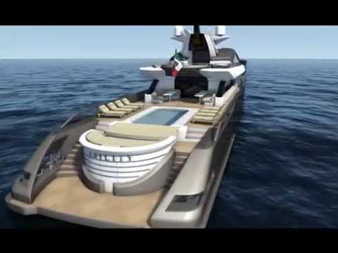 CRN Yachts - Dislopen Concept | CRN 62m sport