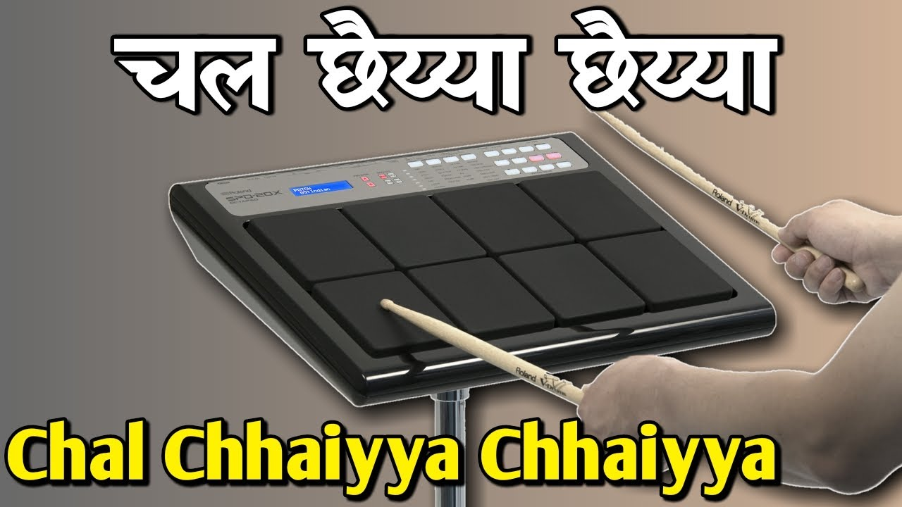 Chal Chhaiyya Chhaiyya | Octapad New Patch Editing SPD 20 & SPD 20X