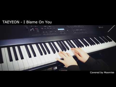 Free Download '태연 (taeyeon) - I Blame On You' Piano Cover [album My Voice] Mp3 dan Mp4
