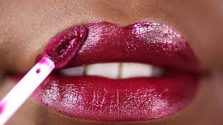 Berried Metallic Matte Lip Whip got us ready for holiday festivities!