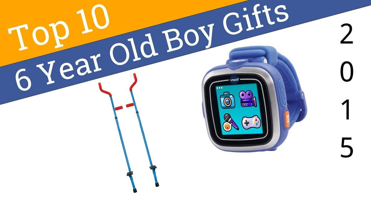 10 Best 6 Year Old Boy Gifts 2015