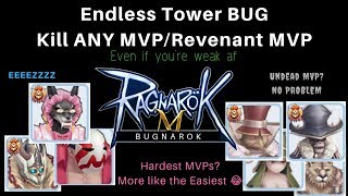 ENDLESS TOWER TRICK! Easy Flr 100/101 (Free Materials)- Ragnarok Mobile