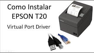 Instalando Epson T20 Virtual Port Drive