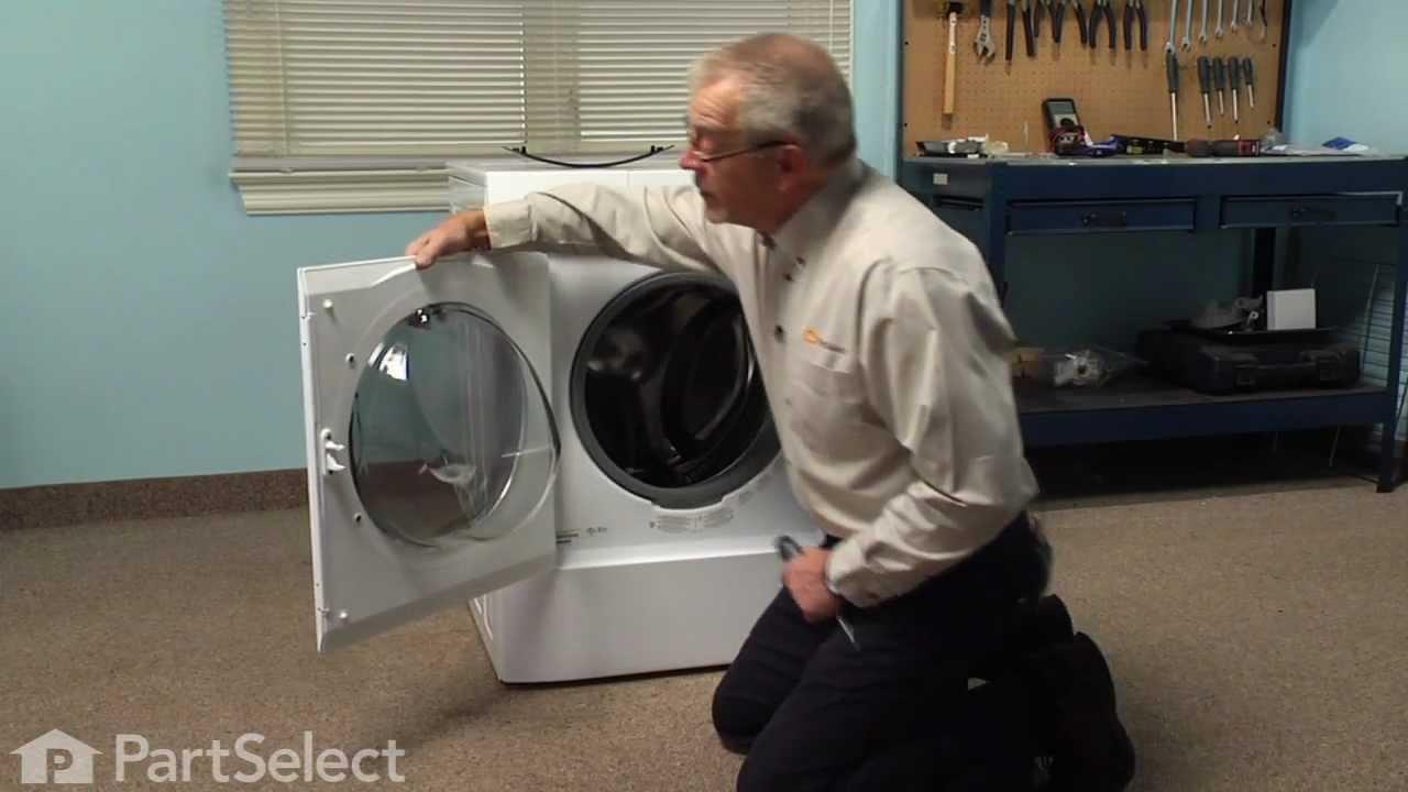 Washing Machine Repair  Replacing The Door Handle (Frigidaire Part  #134412860)   YouTube