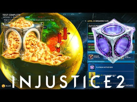 INJUSTICE 2 - SOURCE CRYSTALS + MULTIPLE DIAMOND BOXES MULTIVERSE!!! (Now LIVE)