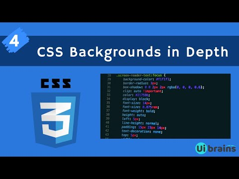 04 CSS Backgrounds | css tutorial for beginners | Ui Brains | NAVEEN SAGGAM thumbnail