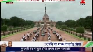 Watch: Kovind on his way to Rashtrapati Bhawan