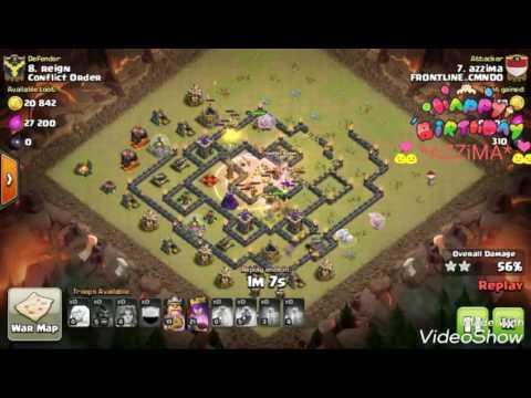 Archer queen healer th9 strategy attack in war