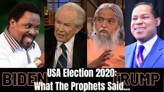 BIDEN VICTORY: Prophets Who Got It RIGHT And WRONG!!! (Ft. TB Joshua, Pat Robertson, Sadhu Selvaraj)