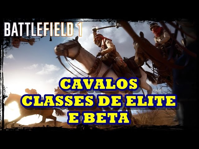 Battlefield 1 Novidades sobre as Classes de Elite e Cavalos