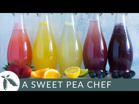 How to Make Homemade Soda + 5 Easy Caffeine-Free Homemade Soda Recipes | A Sweet Pea Chef