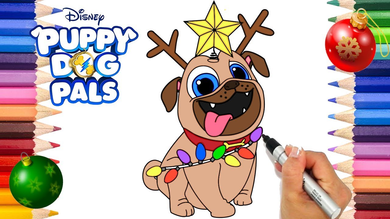 Puppy Dog Pals Coloring Book Puppy Dog Pals Coloring Page Disney