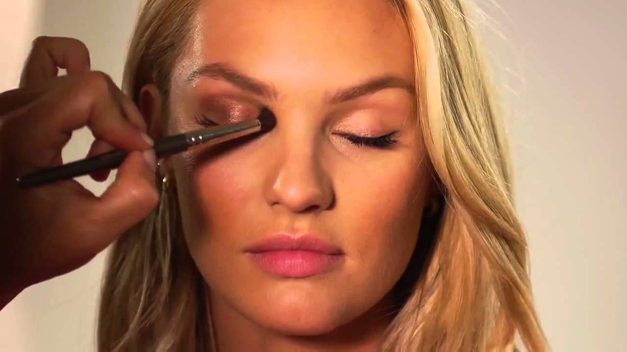 how to candice swanepoel makeup look hd youtube