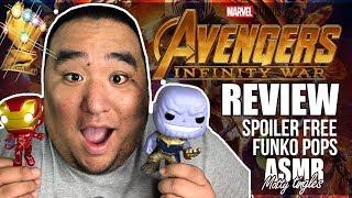 [ASMR] Avengers Infinity War - Movie Review | MattyTingles