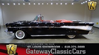 #7350 1957 Chevrolet Bel Air - Gateway Classic Cars of St. Louis
