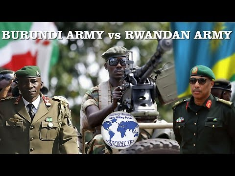 Burundi VS Rwanda Military Power Comparison 2019
