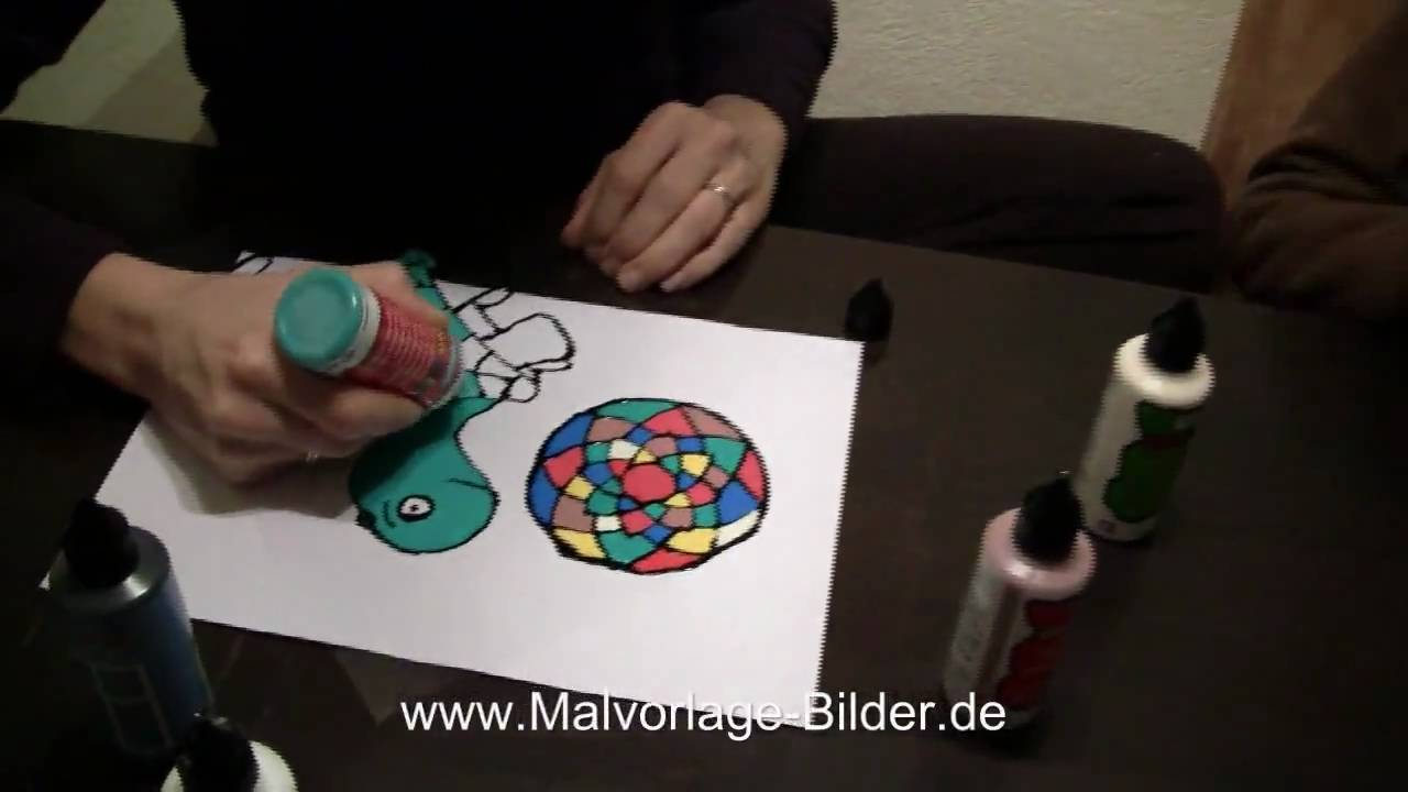 Window Color selber malen - YouTube