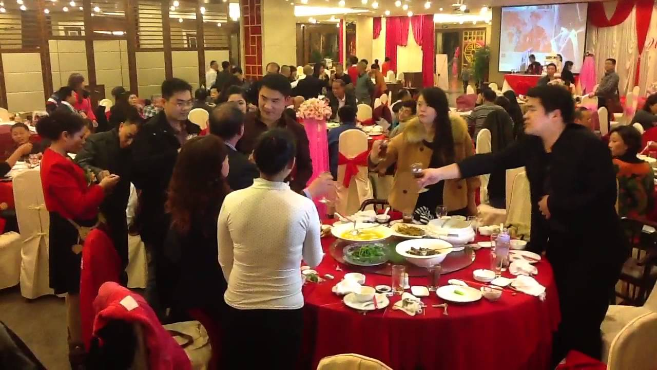chinese wedding dinner youtube