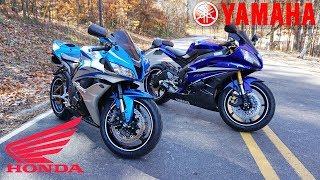 Yamaha R6 vs Honda CBR600rr | The BEST 600cc SPORT BIKE?
