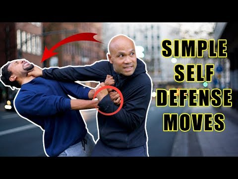 Simple Self Defense moves you should know