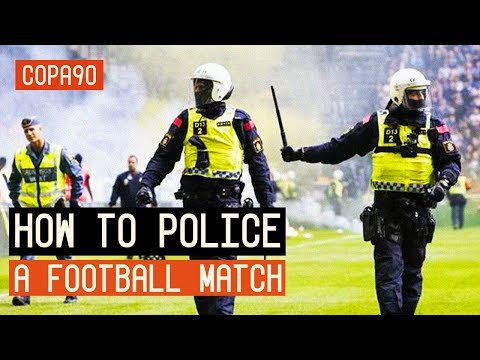 COPA90 Video on the police work behind the Stockholm derby AIK - Hammarby