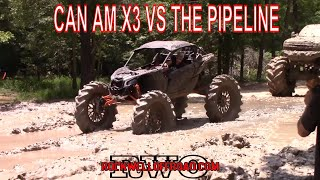 CAN-AM X3 MONSTER HITS THE PIPELINE BOUNTY HOLE!!!